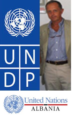 Scapin incontra i responsabili UNDP Albania