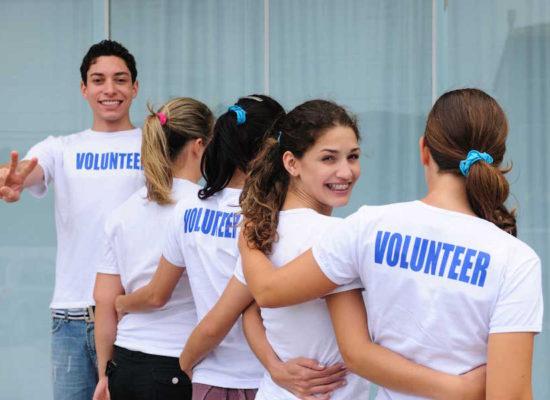 Volontariato tra i giovani